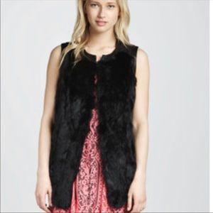 Nanette Lepore Faux Fur Vest